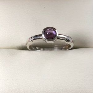 Jewelry - Sterling Silver Ring with Amethyst